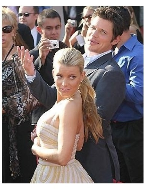 2005 ESPY Awards: Jessica Simpson and Nick Lachey