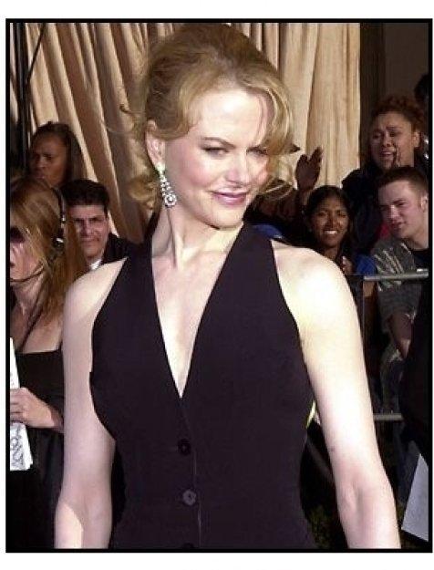 Nicole Kidman at the 2002 SAG Screen Actors Guild Awards