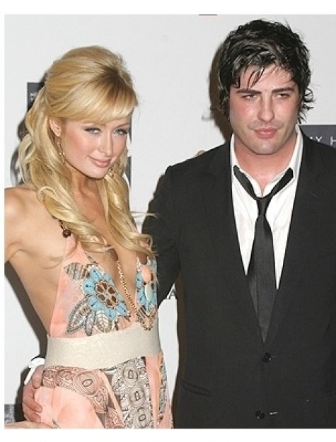 Paris Hilton and Brandon Davis