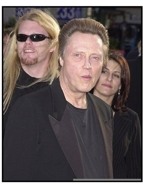 """Christopher Walken at the """"Man on Fire"""" Premiere"""