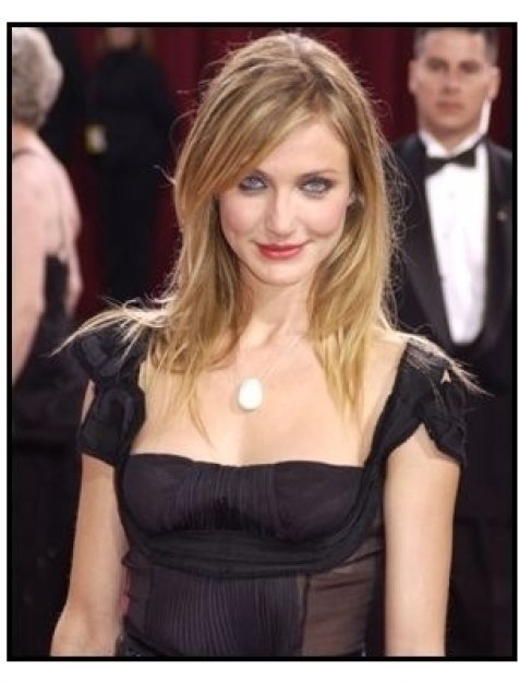 Academy Awards 2003 Arrivals: Cameron Diaz