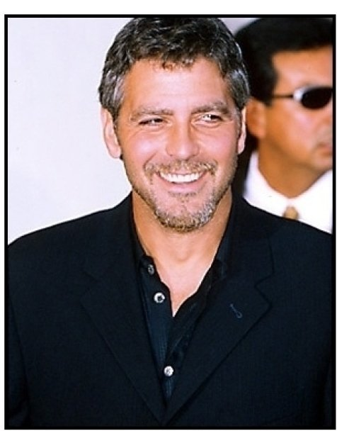 """George Clooney at the """"Perfect Storm"""" Premiere"""