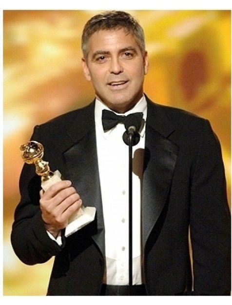 63rd Golden Globes Stage Photos: George Clooney