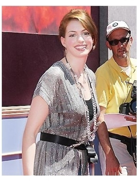 """Anne Hathaway at """"The Princess Diaries 2: Royal Engagement"""" World Premiere"""