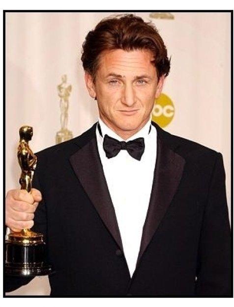 76th Annual Academy Awards - Sean Penn - Backstage
