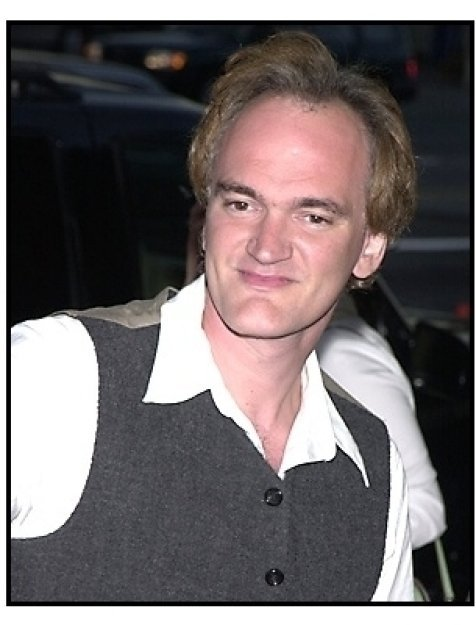 Quentin Tarantino at The Others premiere
