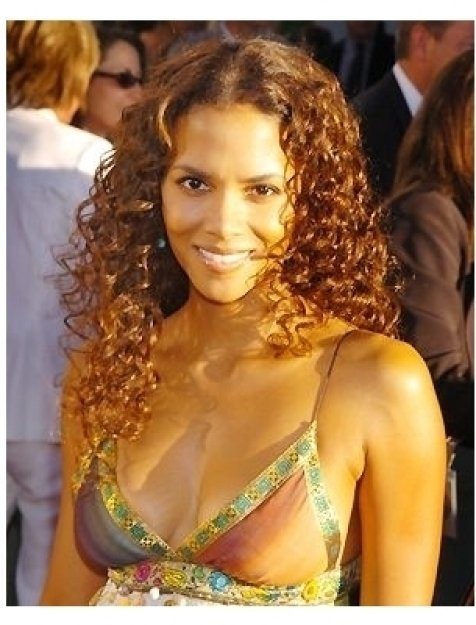 "Halle Berry at the ""Catwoman"" premiere"