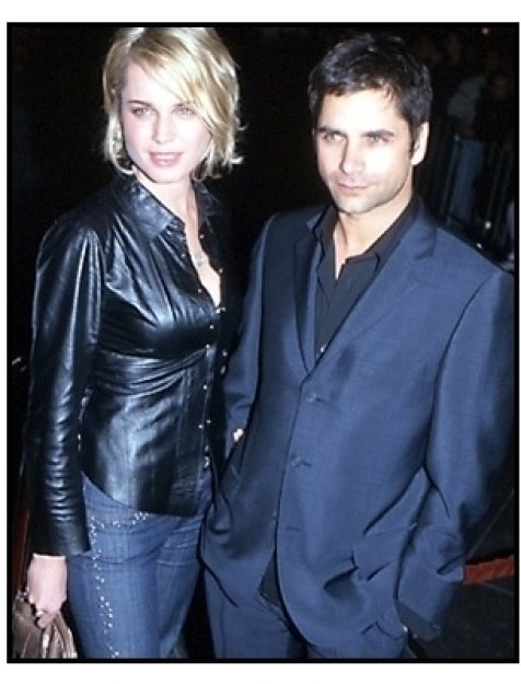 Rebecca Romijn-Stamos and John Stamos at the Snatch premiere