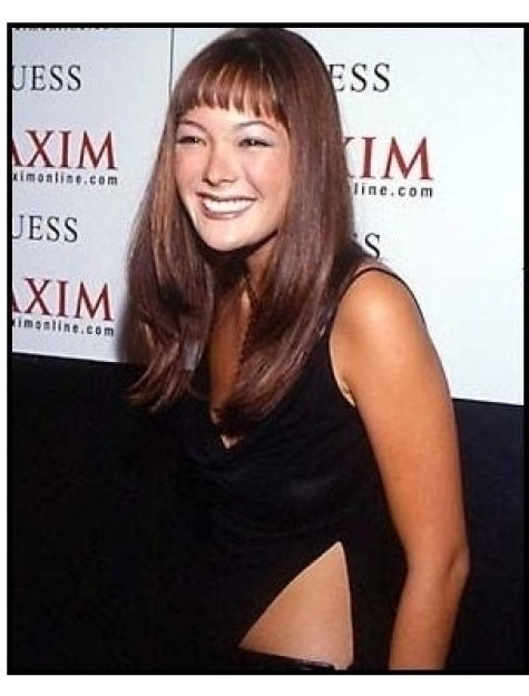 Lindsay Price at the 2000 Maxim Motel Party