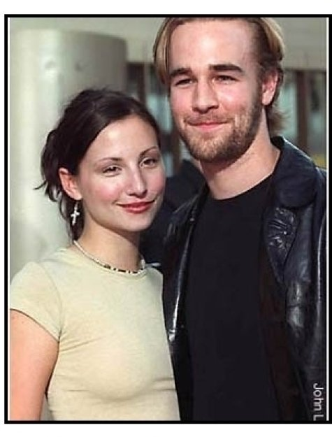 James Van Der Beek and Heather McComb at The Broken Hearts Club premiere