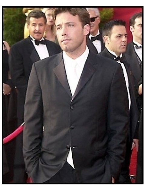 Ben Affleck at the 2001 Academy Awards