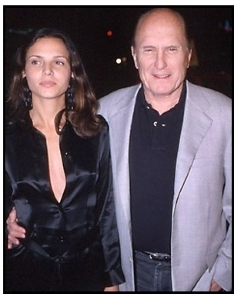 Robert Duvall and date at The 6th Day premiere