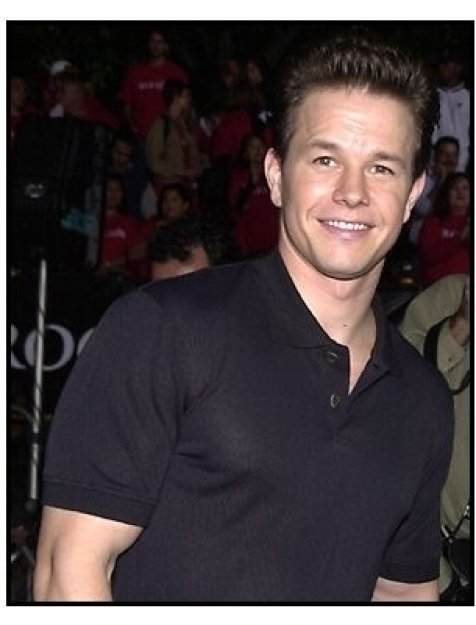 Mark Wahlberg at the Rock Star premiere