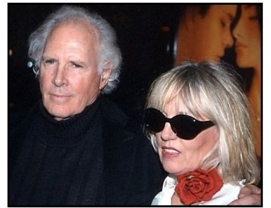 Bruce Dern and date at the All the Pretty Horses premiere
