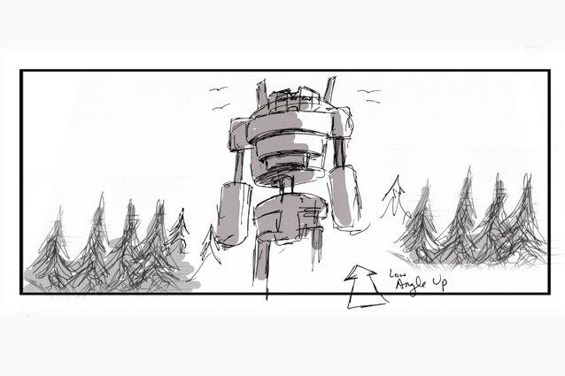 'Broken Toy' Behind the Scenes - Storyboard