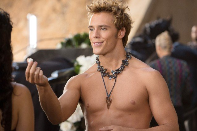 Sam Claflin, Hunger Games Catching Fire