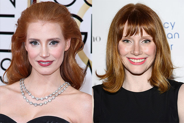 Jessica Chastain and Bryce Dallas Howard