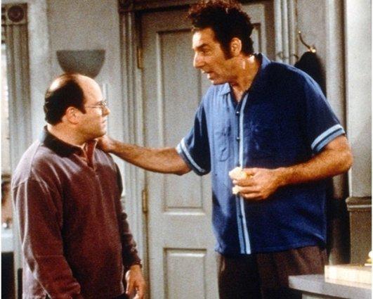 Seinfeld, George Costanza, Cosmo Kramer, Jason Alexander, Michael Richards
