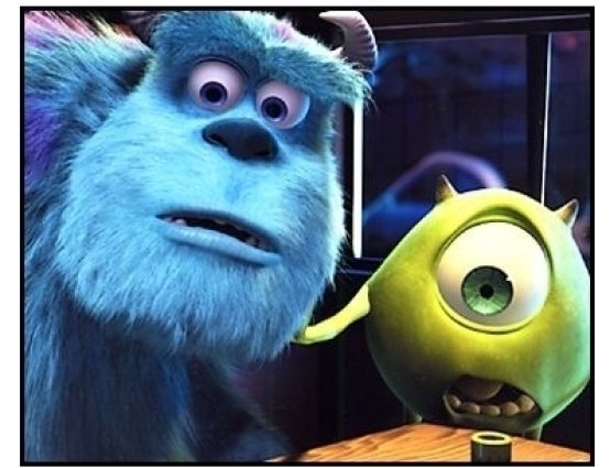 """""""Monsters Inc."""" Movie Still: Sulley and Mike"""