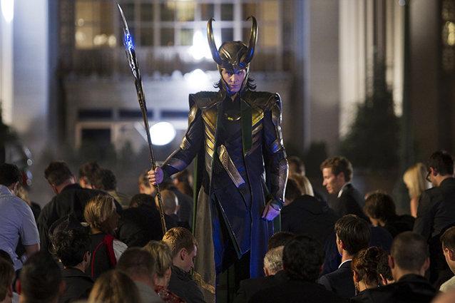 Tom Hiddleston, The Avengers
