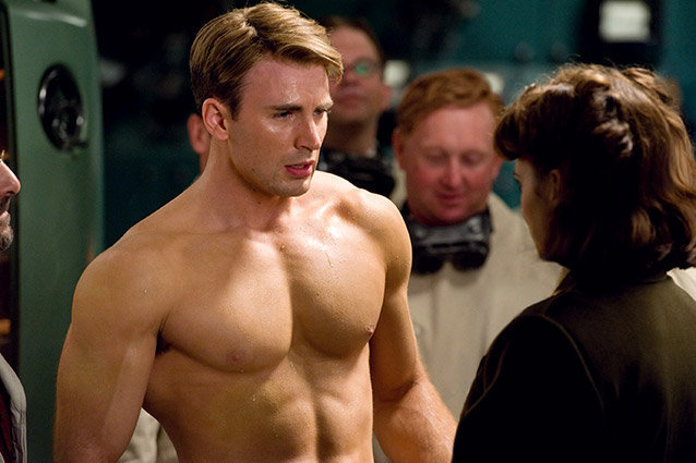 Captain America The First Avenger, Chris Evans