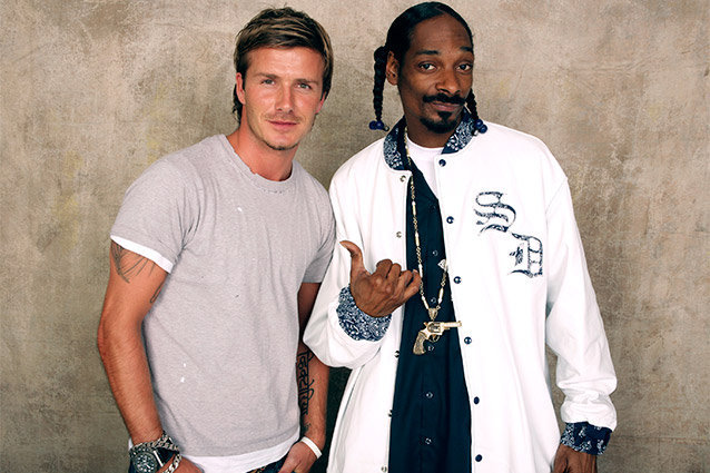 Snoop Dogg, David Beckham